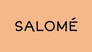 prénom salomé