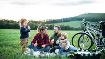 vélo voyage enfants familles vacances expédition